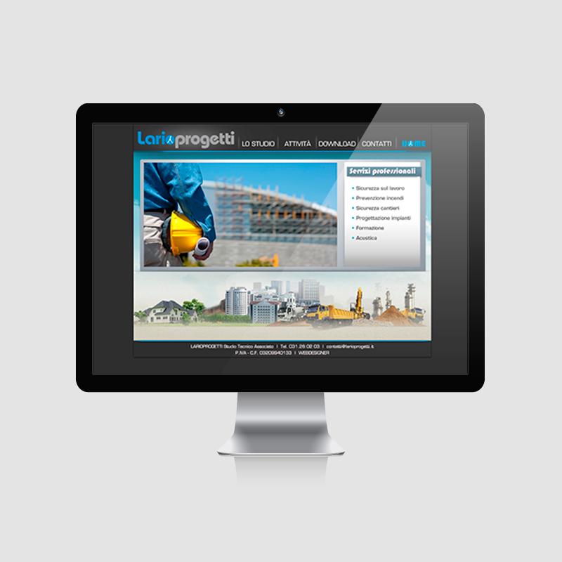 Sito web servizi tecnici