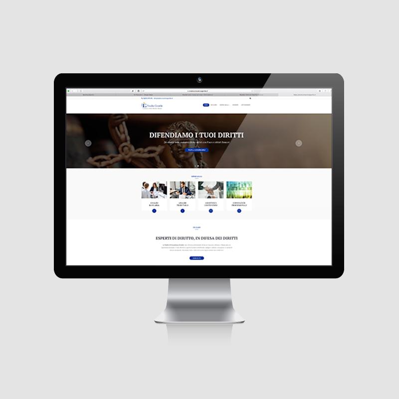 Sito web di consulenza
