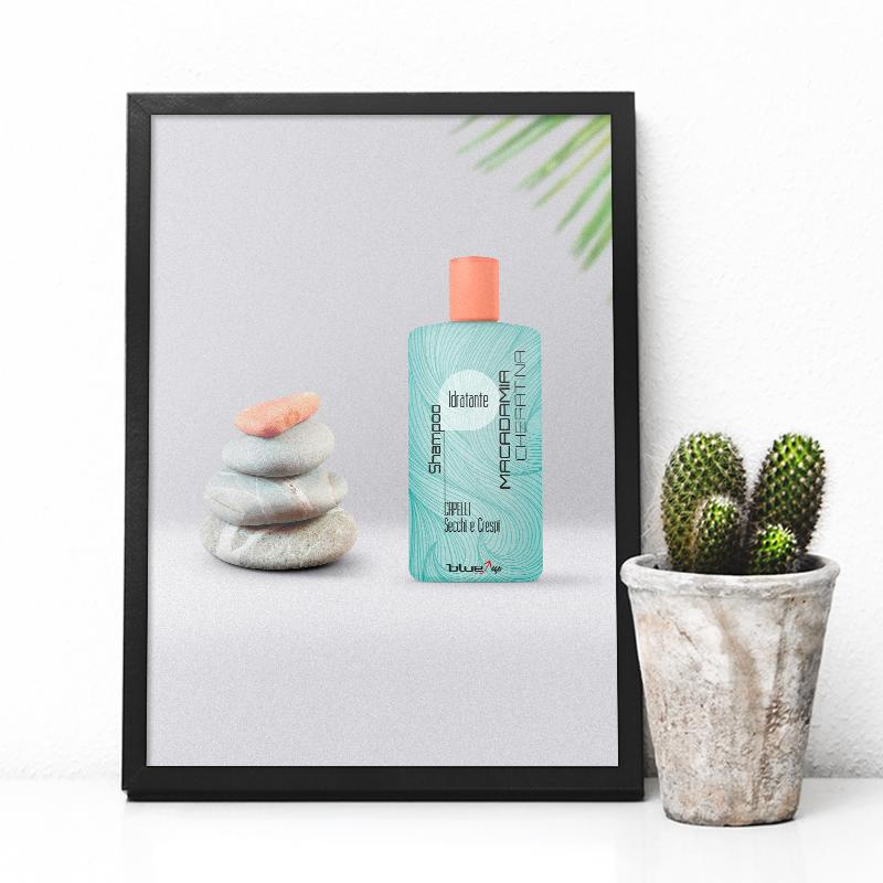 Etichetta per shampoo