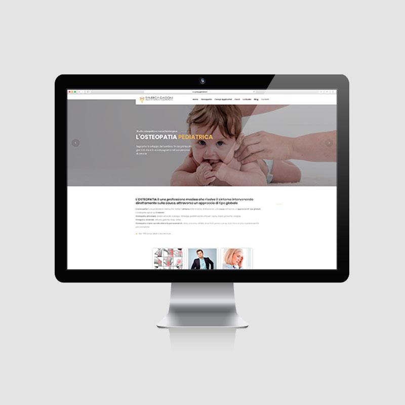 Sito web studio osteopatia e massofisioterapia