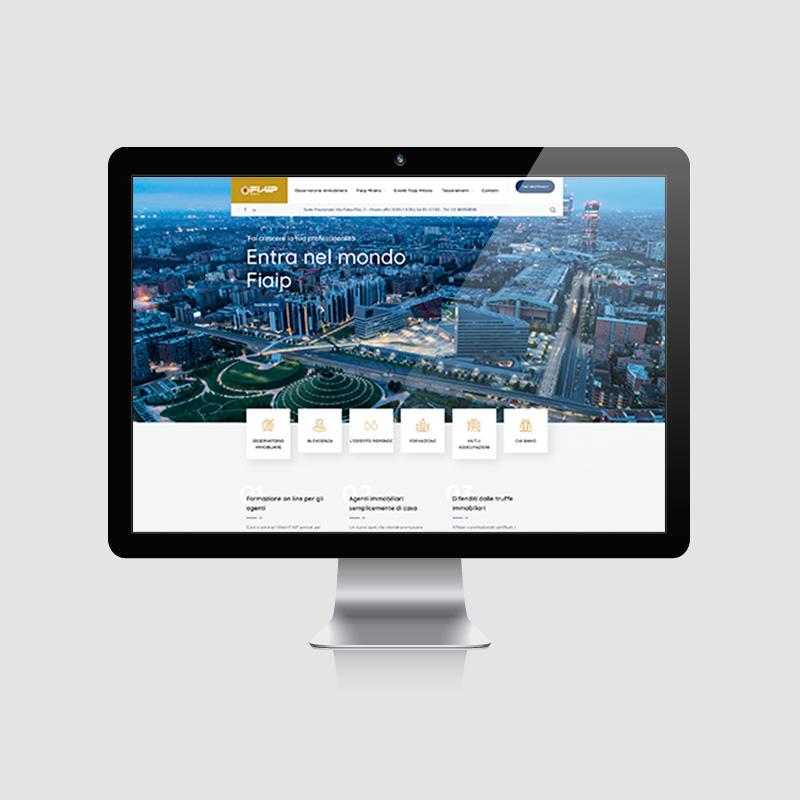 Sito web per federazione immobiliare